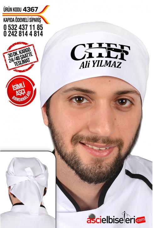 4367 - CHEF BANDANALARI (İsim Hediyeli)