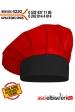 4220 AŞÇI MUTFAK KEPİ Kırmızı - Siyah