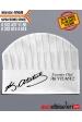 4169 - ÇAPRAZ ATATÜRK İMZALI AŞÇI TELA KEPLERİ  Kep üzerine isim ve ünvan baskısı HEDİYE