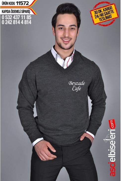 GARSON KAZAĞI FÜME Firma Adınızın Sol Göğüse Nakış İle İşlenmesi HEDİYE