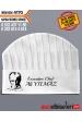 4170 - ATATÜRK BASKILI ŞEF AŞÇI TELA KEP Kep üzerine isim ve ünvan yazılması HEDİYE