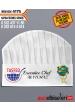 4175 - WACS ve TAŞFED AŞÇI KEPLERİ isminizin kep üzerine basılması HEDİYE