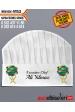 4153 - WACS BASKILI ŞEF AŞÇI KEPLERİ isminizin kep üzerine basılması HEDİYE